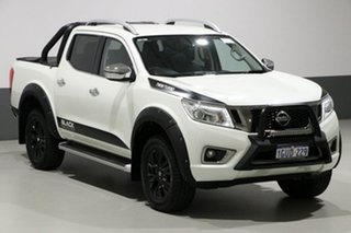 2017 Nissan Navara D23 Series II ST-X N-SPORT Black Edition White 6 Speed Manual Dual Cab Utility