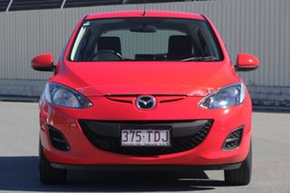 2012 Mazda 2 DE10Y2 MY13 Neo Red 5 Speed Manual Hatchback