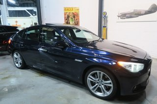 2013 BMW 520d F07 LCI M Sport Gran Turismo Steptronic Blue 8 Speed Sports Automatic Hatchback.