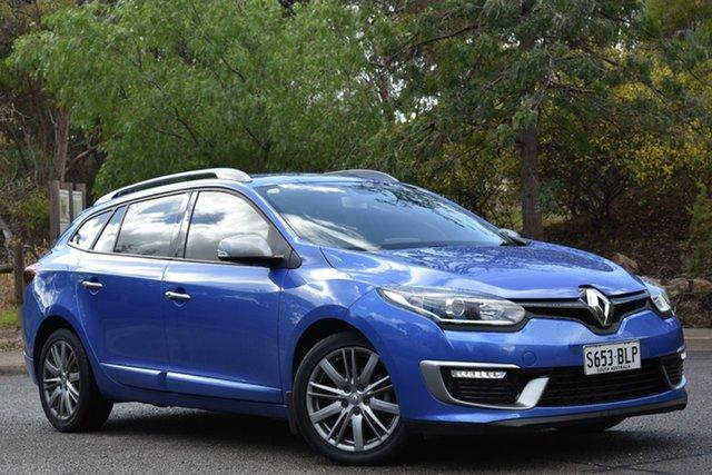 Used Renault Megane III K95 Phase 2 GT-Line Sportwagon EDC, 2016 Renault Megane III K95 Phase 2 GT-Line Sportwagon EDC Malta Blue 6 Speed