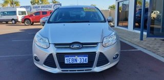 2012 Ford Focus LW MkII Trend Silver 5 Speed Manual Hatchback.