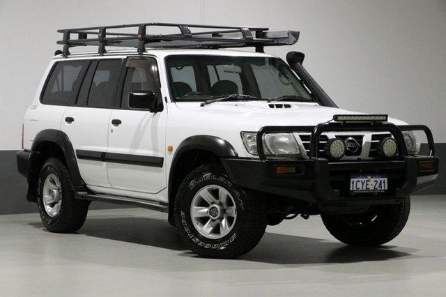 Used Nissan Patrol GU III ST (4x4), 2004 Nissan Patrol GU III ST (4x4) White 5 Speed Manual Wagon