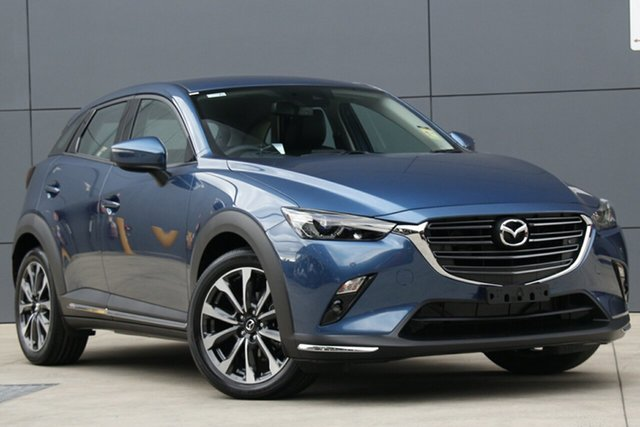 New Mazda CX-3 DK2W7A sTouring SKYACTIV-Drive FWD, 2019 Mazda CX-3 DK2W7A sTouring SKYACTIV-Drive FWD Eternal Blue 6 Speed Sports Automatic Wagon