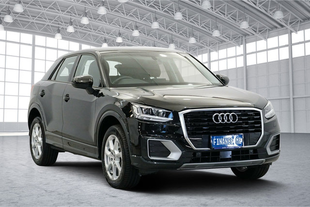 Used Audi Q2 GA MY18 design S Tronic, 2018 Audi Q2 GA MY18 design S Tronic Black 7 Speed Sports Automatic Dual Clutch Wagon