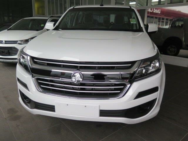 New Holden Colorado RG MY19 LS Pickup Crew Cab, 2019 Holden Colorado RG MY19 LS Pickup Crew Cab Summit White 6 Speed Sports Automatic Utility
