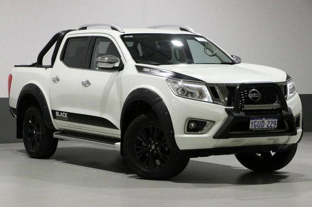 Used Nissan Navara D23 Series II ST-X N-SPORT Black Edition, 2017 Nissan Navara D23 Series II ST-X N-SPORT Black Edition White 6 Speed Manual Dual Cab Utility