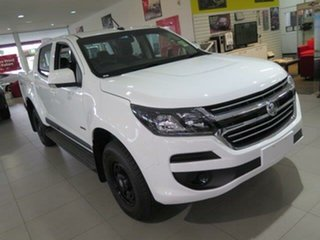2018 Holden Colorado RG MY19 LS Pickup Crew Cab Summit White 6 Speed Sports Automatic Utility.
