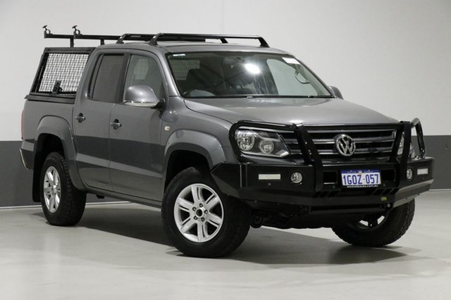 Used Volkswagen Amarok 2H MY13 TDI400 Highline (4x4), 2013 Volkswagen Amarok 2H MY13 TDI400 Highline (4x4) Grey 6 Speed Manual Dual Cab Utility