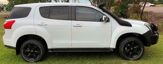 2014 Isuzu MU-X MY14 LS-U White 5 Speed Manual Wagon.