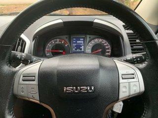 2014 Isuzu MU-X MY14 LS-U White 5 Speed Manual Wagon
