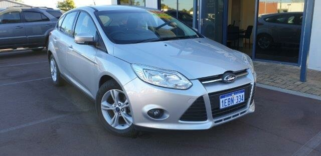 Used Ford Focus LW MkII Trend, 2012 Ford Focus LW MkII Trend Silver 5 Speed Manual Hatchback