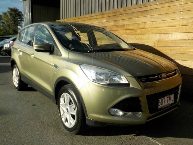 Used Ford Kuga TF Ambiente 2WD, 2013 Ford Kuga TF Ambiente 2WD Green 6 Speed Manual Wagon