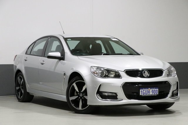 Used Holden Commodore VF II MY17 SV6, 2017 Holden Commodore VF II MY17 SV6 Nitrate 6 Speed Automatic Sedan