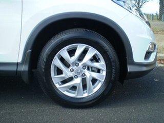 2015 Honda CR-V RM Series II MY16 VTi-S 4WD Taffeta White 5 Speed Sports Automatic Wagon.