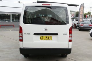 2016 Toyota HiAce TRH201R MY15 LWB White 6 Speed Automatic Van