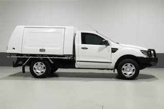 2013 Ford Ranger PX XL 3.2 (4x4) White 6 Speed Manual Cab Chassis