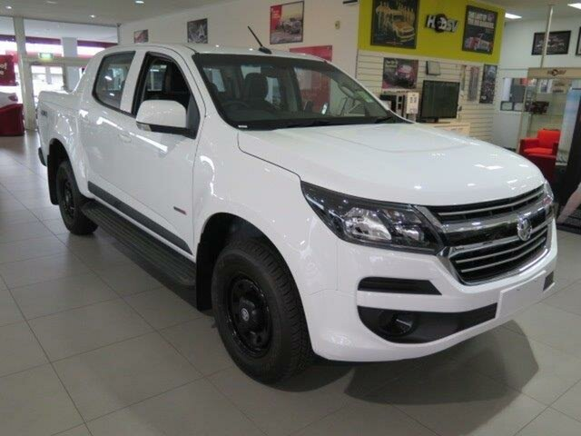 Demo Holden Colorado RG MY19 LS Pickup Crew Cab, 2018 Holden Colorado RG MY19 LS Pickup Crew Cab Summit White 6 Speed Sports Automatic Utility