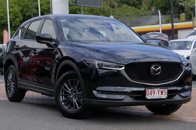 Demo Mazda CX-5 KF2W7A Maxx SKYACTIV-Drive FWD Sport, 2019 Mazda CX-5 KF2W7A Maxx SKYACTIV-Drive FWD Sport Jet Black 6 Speed Sports Automatic Wagon