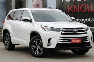 2018 Toyota Kluger GSU50R MY18 GX (4x2) Crystal Pearl 8 Speed Automatic Wagon.