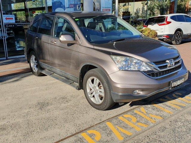 Used Honda CR-V RE MY2011 Luxury 4WD, 2011 Honda CR-V RE MY2011 Luxury 4WD Bronze 5 Speed Automatic Wagon