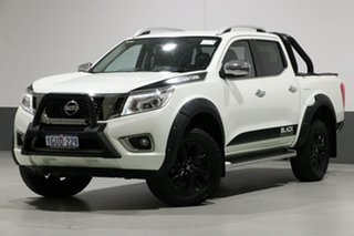 2017 Nissan Navara D23 Series II ST-X N-SPORT Black Edition White 6 Speed Manual Dual Cab Utility.
