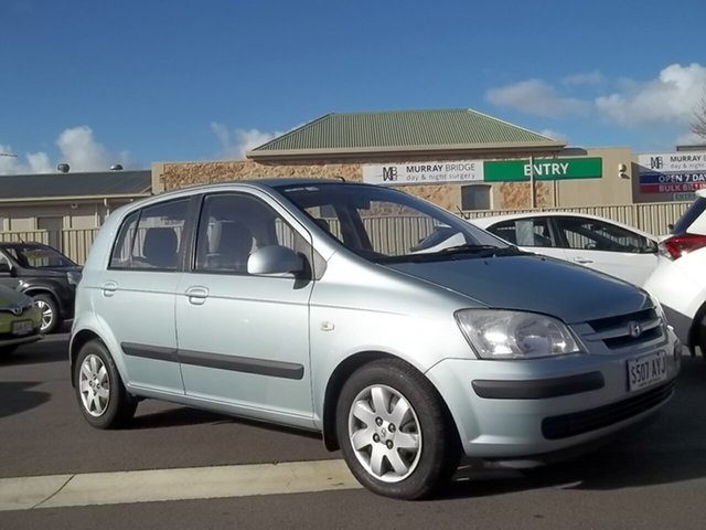 Used Hyundai Getz TB MY05 GL, 2005 Hyundai Getz TB MY05 GL 5 Speed Manual Hatchback