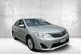 2014 Toyota Camry Altise Altise Silver 6 Speed Automatic Sedan.