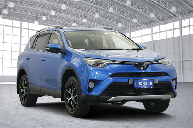 Used Toyota RAV4 ASA44R GXL AWD, 2016 Toyota RAV4 ASA44R GXL AWD Blue 6 Speed Sports Automatic Wagon