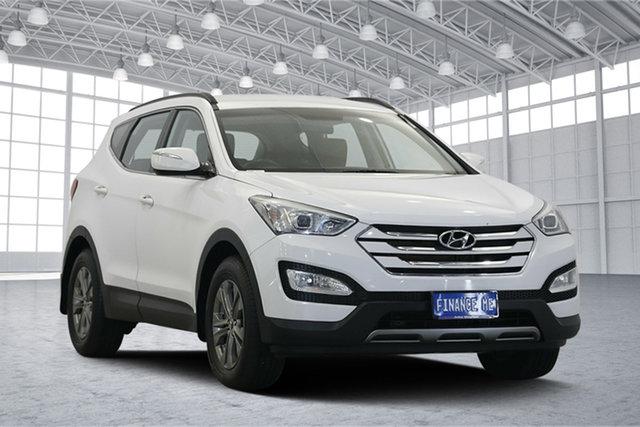 Used Hyundai Santa Fe DM MY13 Active, 2012 Hyundai Santa Fe DM MY13 Active White 6 Speed Sports Automatic Wagon