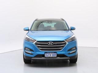 2018 Hyundai Tucson TLE2 MY18 Highlander R-Series (AWD) Ara Blue 6 Speed Automatic Wagon.