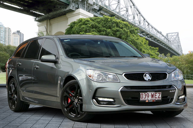 Used Holden Commodore VF MY15 SS V Sportwagon Redline, 2015 Holden Commodore VF MY15 SS V Sportwagon Redline Grey 6 Speed Sports Automatic Wagon
