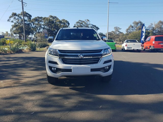 New Holden Colorado RG MY18 LTZ Pickup Crew Cab, 2018 Holden Colorado RG MY18 LTZ Pickup Crew Cab Summit White 6 Speed Sports Automatic Utility