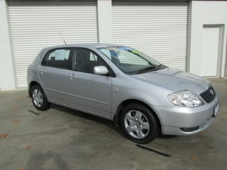 2002 Toyota Corolla CONQUEST Conquest Silver 4 Speed Automatic Hatchback.