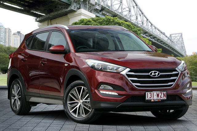 Used Hyundai Tucson TL MY17 Active X 2WD, 2017 Hyundai Tucson TL MY17 Active X 2WD Red 6 Speed Sports Automatic Wagon