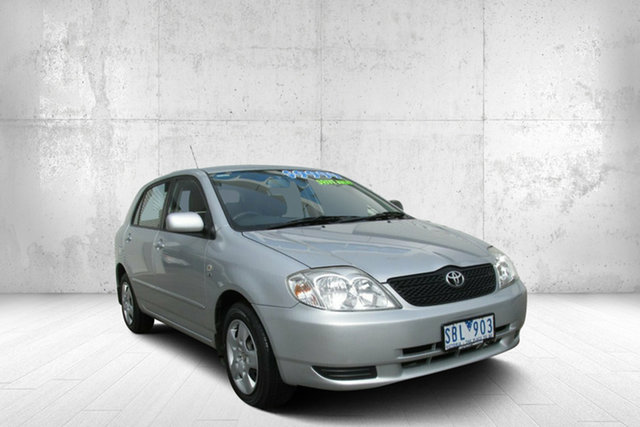 Used Toyota Corolla  Conquest, 2002 Toyota Corolla CONQUEST Conquest Silver 4 Speed Automatic Hatchback