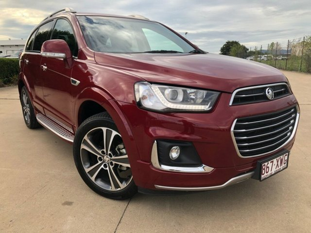 Used Holden Captiva CG MY18 LTZ AWD, 2017 Holden Captiva CG MY18 LTZ AWD Red 6 Speed Sports Automatic Wagon