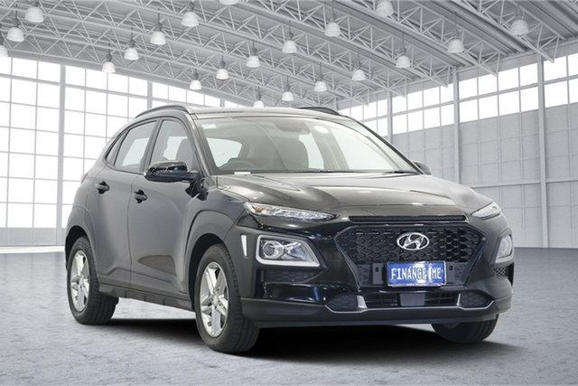 Used Hyundai Kona OS MY18 Active 2WD, 2017 Hyundai Kona OS MY18 Active 2WD Black 6 Speed Sports Automatic Wagon