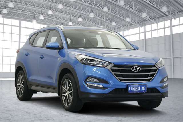 Used Hyundai Tucson TL MY17 Active X 2WD, 2016 Hyundai Tucson TL MY17 Active X 2WD Blue 6 Speed Sports Automatic Wagon