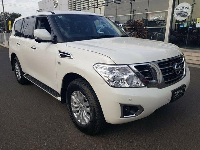 Demo Nissan Patrol  TI (4x4), 2019 Nissan Patrol Y62 SERIES 4 MY TI (4x4) Ivory Pearl 7 Speed Automatic Wagon