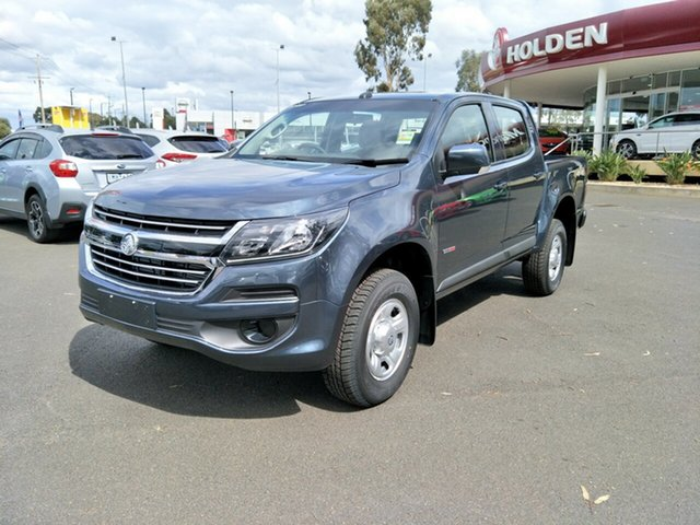 New Holden Colorado RG MY19 LS Pickup Crew Cab, 2019 Holden Colorado RG MY19 LS Pickup Crew Cab Dark Shadow Grey 6 Speed Sports Automatic Utility