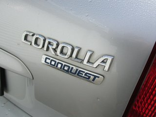 2002 Toyota Corolla CONQUEST Conquest Silver 4 Speed Automatic Hatchback