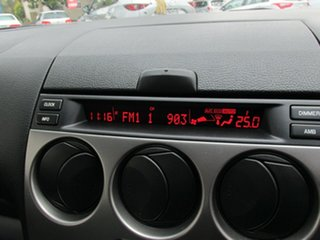 2005 Mazda 6 GG1031 MY04 Classic Silver Contrail 4 Speed Sports Automatic Sedan
