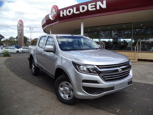 New Holden Colorado RG MY19 LS Pickup Crew Cab, 2019 Holden Colorado RG MY19 LS Pickup Crew Cab Nitrate 6 Speed Sports Automatic Utility