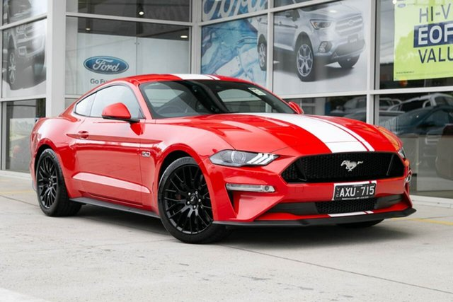 Demo Ford Mustang FN 2018MY GT Fastback SelectShift, 2018 Ford Mustang FN 2018MY GT Fastback SelectShift Red 10 Speed Sports Automatic Fastback