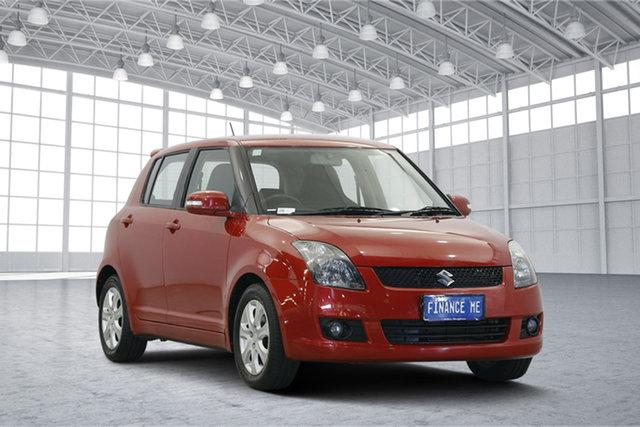 Used Suzuki Swift RS415 RE4, 2009 Suzuki Swift RS415 RE4 Red 5 Speed Manual Hatchback