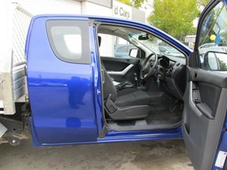 2012 Mazda BT-50 UP0YF1 XT Freestyle 4x2 Hi-Rider Aurora Blue 6 Speed Manual Cab Chassis