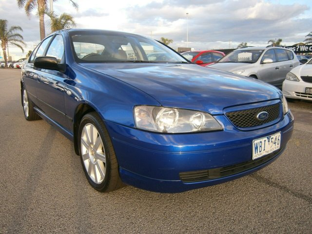 Used Ford Falcon BA XT, 2003 Ford Falcon BA XT Blue 4 Speed Sports Automatic Sedan