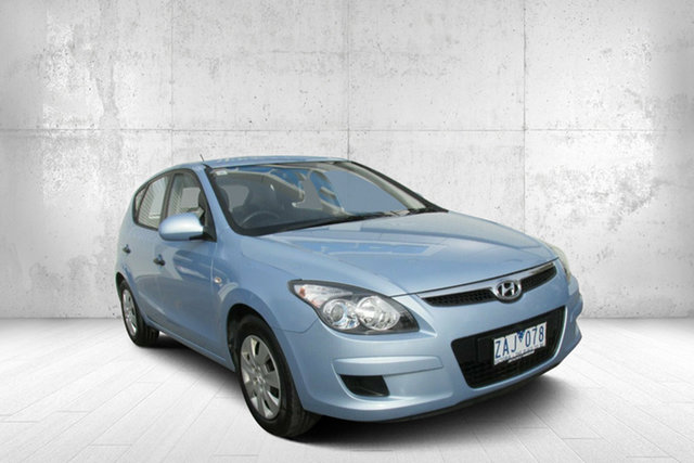 Used Hyundai i30 FD MY11 SX cw Wagon, 2011 Hyundai i30 FD MY11 SX cw Wagon Blue 4 Speed Automatic Wagon