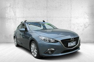 2013 Mazda 3 BM5436 SP25 SKYACTIV-MT Blue 6 Speed Manual Hatchback.