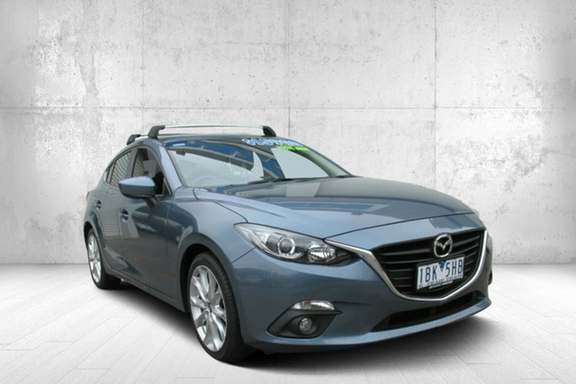 Used Mazda 3 BM5436 SP25 SKYACTIV-MT, 2013 Mazda 3 BM5436 SP25 SKYACTIV-MT Blue 6 Speed Manual Hatchback